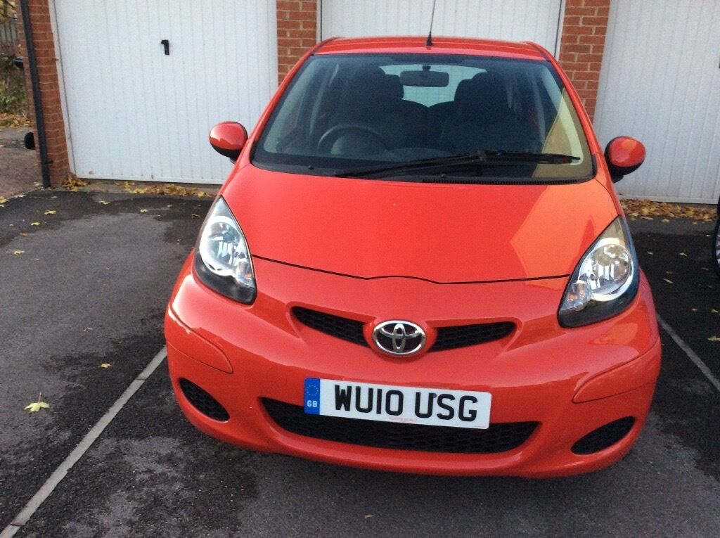 My Toyota Aygo 5dr 2010 only 25k miles £20 tax Toyota history ex condition