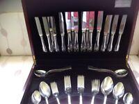 Guy Degrenne, 60 piece canteen of cutlery,unused,in nice presentation box