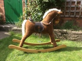 Vintage mamas and papas toy rocking horse