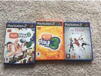 Ps2 eye toy game collection