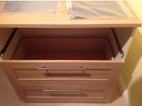 Kids Dresser with Changer from Mamas and Papas (Rialto range) in Ivory