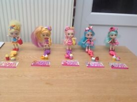 Shopkins shoppie dolls