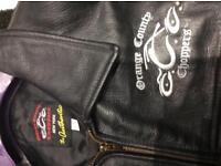 Harley Davidson Orange County Cooper dress leather jacket