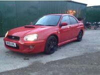 Subaru Impreza wrx turbo 2005