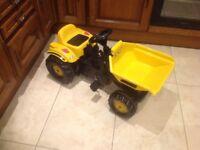 ROLLY toys JCB dumper truck - kids outdoor toys