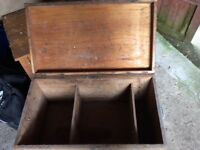 Large wooden tool box ...still available