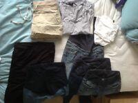 Maternity clothes bundle, size 8