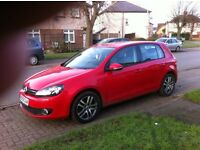 vw golf 2.0 tdi 140 dpf 6 speed diesel new mot and a full service part x possible please no messers