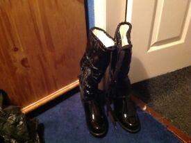 Geox fur boots
