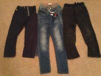 Next Boys trouser bundle age 9 and10