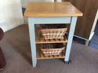 Kitchen trolley with 2 Baskets £75