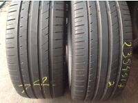 235/45/17 x 2 Firenze / extra load / part worn tyres from /£55..