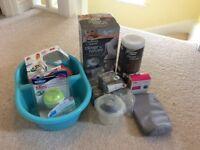 Baby bottle feeding accessories