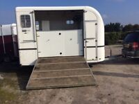 Equitrek space treka L 2 large horse trailer