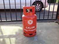 Calor gas 6kg propane gas bottle. Full.