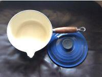 Le creuset saucepan 18cm blue