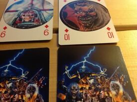 Iron Maiden playing cards