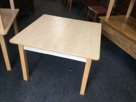 3 X square beech coffee tables