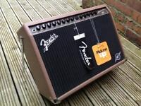Brand new Fender Acoustasonic 150 amp & Tiger amp stand