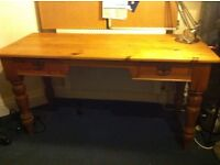 Table desk victorian