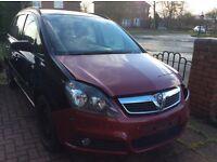 Vauxhall zafira b front & rear bumper