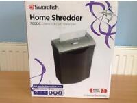SWORDFISH 700DC DIAMOND-CUT HOME SHREDDER