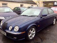 2002/52 jaguar s-type 3.0 sport immaculate car £2400