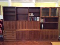 Rosewood Study or Office Furniture