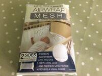Airwrap Mesh Cot Bumpers