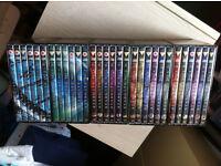 Stargate SG1 DVD's
