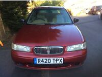 Rover 420 Turbo Diesal. Economical and a comfortable drive.
