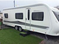 Hobby caravan 2010 645 vip excellent condition