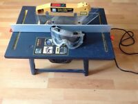 Electric table/bench saw
