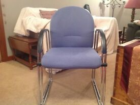 4 chairs, ideal for home or office setting