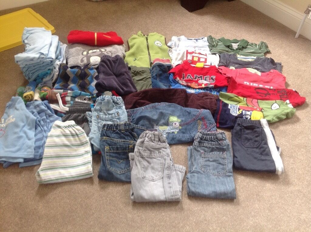 Boys clothes age 1-2 years