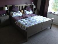 Super King Double bed, IKEA HEMNES