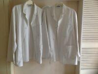 Two white coats