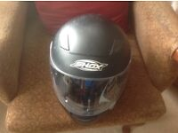 Shox bike helmet black. Size X/Large.