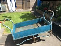 Wheeled Market barrow, trolley, cart