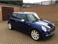 MINI COOPER - TOP SPEC - XENONS - LEATHERS JCW ALLOYS - PX WELCOME