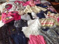 Large bundle of age 9-10 girls clothes Barbour,RL, Stella McCartney, monsoon, crew cuts, jigsaw