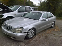 2001 MERCEDES W220 S320 CDI BREAKING FOR SPARES / PARTS