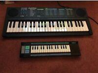 Keyboards Bontempi and Yamaha