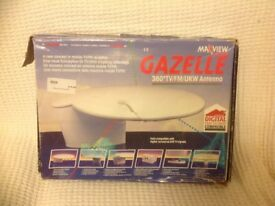 Maxview Gazelle 360degree TV/FM/UKW antenna