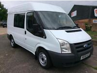2008 Ford Transit 2.2 Diesel Manual, 6 Seater.