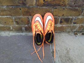 Nike boys football boots size 2