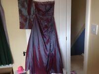 Prom / Graduation Dress From Designer Katherine Hamilton Size 8/10 Petite