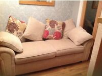 Scs Burbank settee and swivel chair