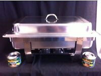 RESTAURANT CATERING STAINLESS STEEL CHAFING DISH