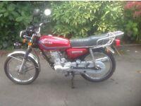 Chituma CTM 125cc motor cycle